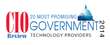 CIO Review 20 Most Promising Government Technology Providers of 2014