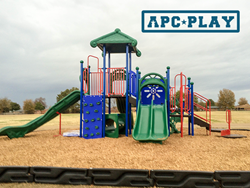 Cayman Islands Commercial Play Structure from APCPLAY