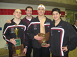 Trio of Former High School Swim Captains at Cleveland's University...