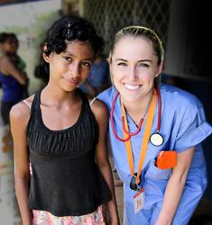 Christy Barney - Winner of the 2014 Medical Mission Raffle