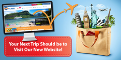 Your next trip should be to visit our new website