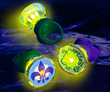 Mardi Gras LED Rings from Glowsource.com