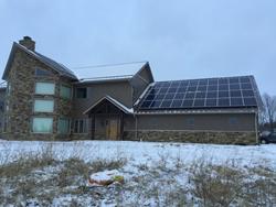 Heliene 10kW watt solar panel installation