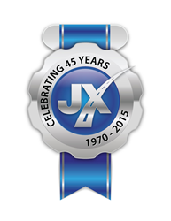 JX Enterprises - 45th Anniversary Logo