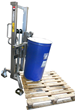 Drum Handling Equipment With Quick Release Drum Lifting Attachment