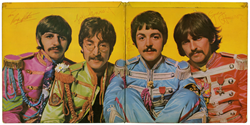 Beatles Fully Signed Sgt. Pepper LP Sleeve