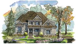 luxury model home pittsboro nc