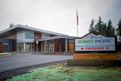 Summit Pacific Medical Center, one of five recipients of the 2014 T-System Client Excellence Awards