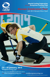 Viktor Kjäll, Olympic Curling Bronze medalist and World Champion, will be visiting from Sweden for the tour stop