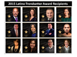 Thirteenth Annual Latino Trendsetter Awards Announced
