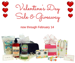 Valentine's Day Sale and Giveaway