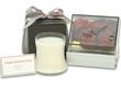 Elegant Candle and Chocolates Gift Set