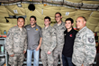 NASCAR Drivers Tony Stewart and Kyle Larson Join Daytona International Speedway President Joie Chitwood III on Moment-Filled USO Tour to MacDill AFB