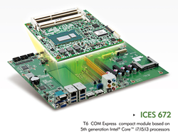 ICES 672 T6 COM Express Compact Module
