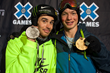 Monster Energy's Kevin Rolland and David Wise