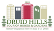 Druid Hills Civic Association presents annual tour of historical homes and gardens
