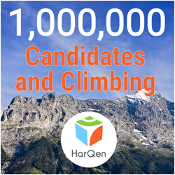 HarQen has engaged over 1,000,000 candidates