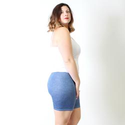 Denim Undersummers Shortlette Slip Short in Regular and Plus Sizes.
