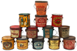 LOT 38 - 13 Peanut Butter Tin Pails