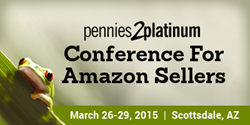 The premier educational conference for Amazon sellers - March 26-29 in Scottsdale, AZ