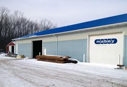  Mabey Inc. Upstate New York Depot przenosi się do większego obiektu Wraz I-90 gI 71745 frontshop