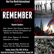 One Free World International to Remember 100th Anniversary of the Armenian Genocide with Event in Toronto