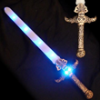 Blue LED Skull Sword from Sureglow.com