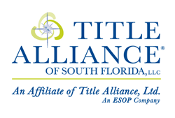 Title Alliance of South Florida offering title and escrow services in South Florida.