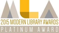 Modern Library Awards 2015 Platinum Award