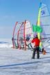 Short Track Slalom on Lake Winnebago