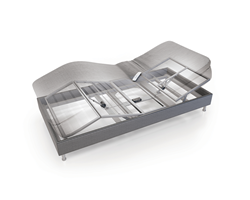 Box Spring Bed - Single Actuator System