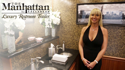 The Manhattan Luxury Restroom Trailer by Callahead