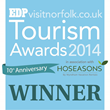 EDP/VisitNorfolk Tourism Awards Winners Logo