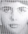 Sierra - Acrylic Pixel Painting