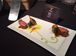 Dish prepared by Chinese Kendall Student for St. Pellegrino Competition