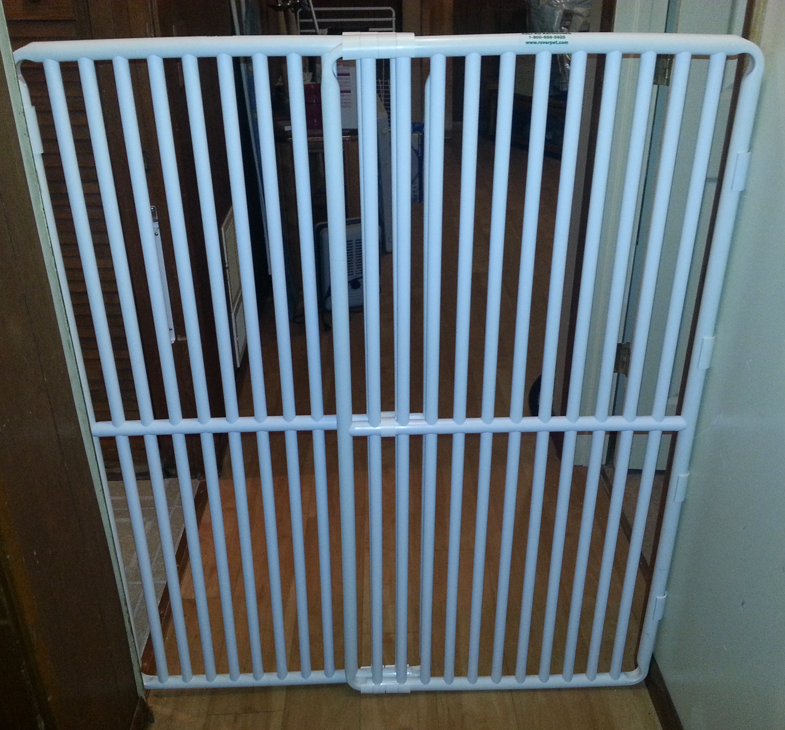 pvc indoor pet gatemade in the usa pet gate