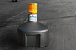 The Away With Geese Roof Unit is weighted to be secure and is not invasive to the rooftop.