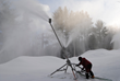 "Shawnee Peak Snowmaking and Grooming Crews ""Weather the..."