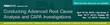 FDAnews Announces: Conducting Advanced Root Cause Analysis CAPA...