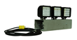 Magnetic Mount LED Flood Light Equipped with a Transformer and Straight Blade Plug for 120V Operation