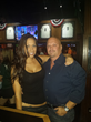 David Gergen, President of  and Angela Rojas, Server at Padre Murphy's