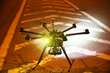 "The 100PLUS Outrunner RATM is the first ever running event in the world to feature drones as an active part of the race. Participants had to dodge, hide from and outrace airborne drones set loose to ""hunt"" them down in the dark of the night."