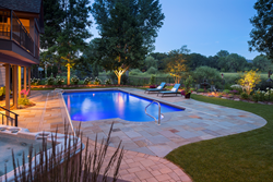 Backyard pool design by Southview Design