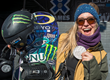 Monster Energy's Jamie Anderson Takes A Silver Medal in...