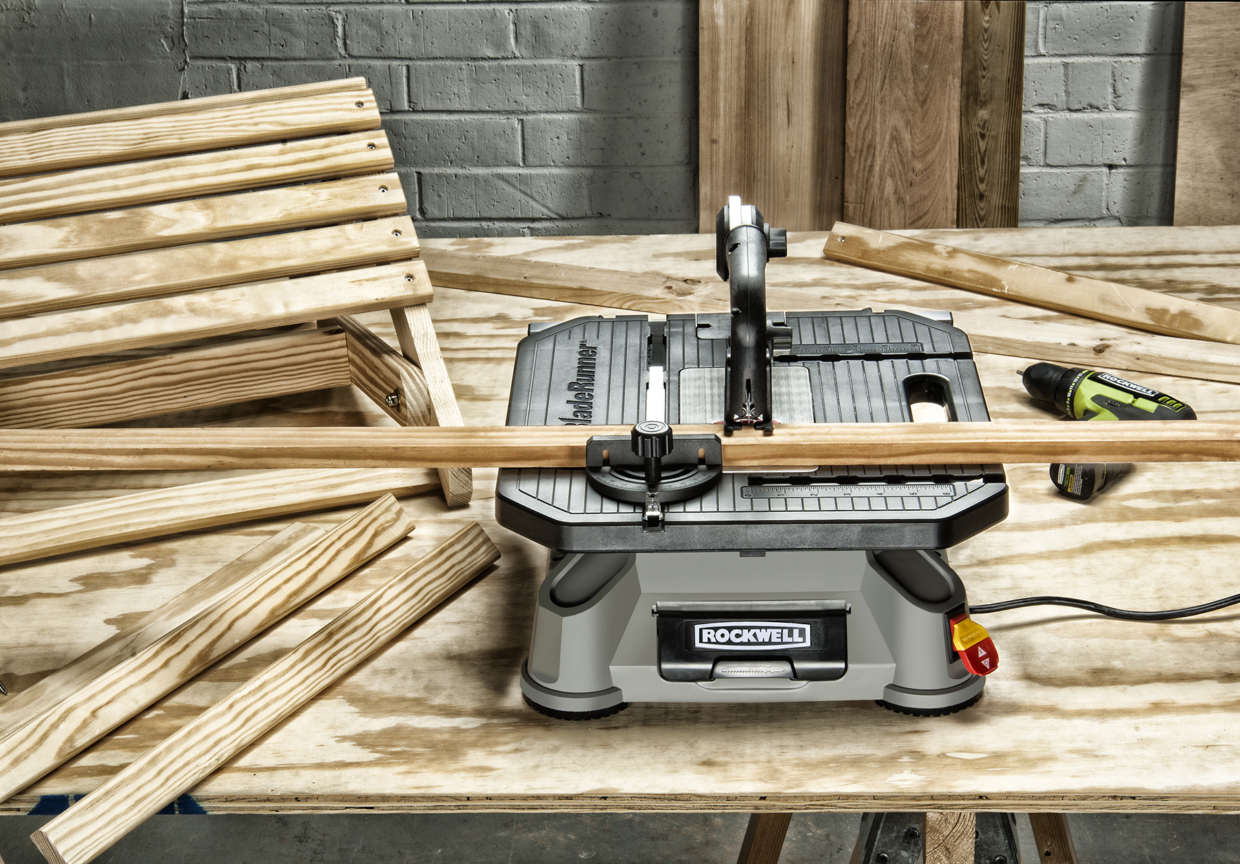 New Rockwell Bladerunner X2 Is Ideal Benchtop Saw For