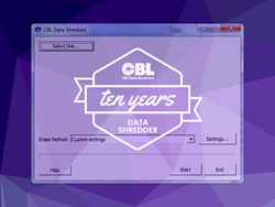 CBL Data Recovery Celebrates the Continued Success of Data Shredder Approaching the App's 10 Year Anniversary