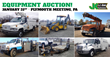 Public Auto and Equipment Auction, Philadelphia, PA, January 31, 2015