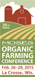 The La Crosse Area Welcomes Nation's Largest Organic Farming...