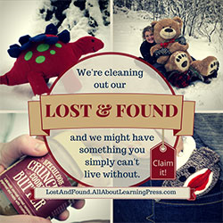 Lost and Found from All About Learning Press