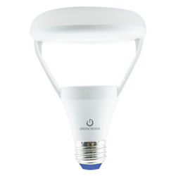 Green Creative Cloud BR30 LED Bulb now available.